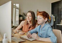 nauka z domu, nauka w pandemii, jak pomóc dziecku w nauce, jak uczyc dziecko z domu, nauka online, lekcje online